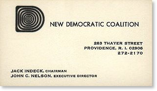 presidential business cards